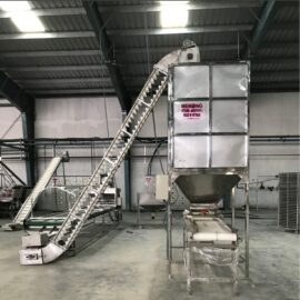 cashew tray filling machine